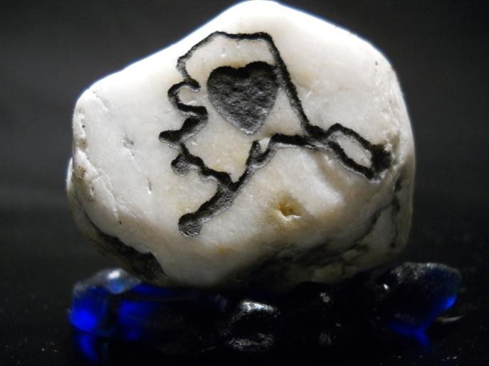 Alaskan Rocks-Love Alaska