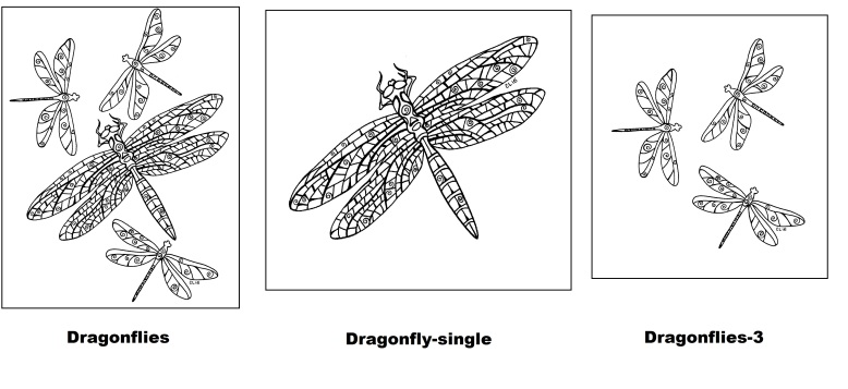 chelline's dragonflies1 outlined.jpg