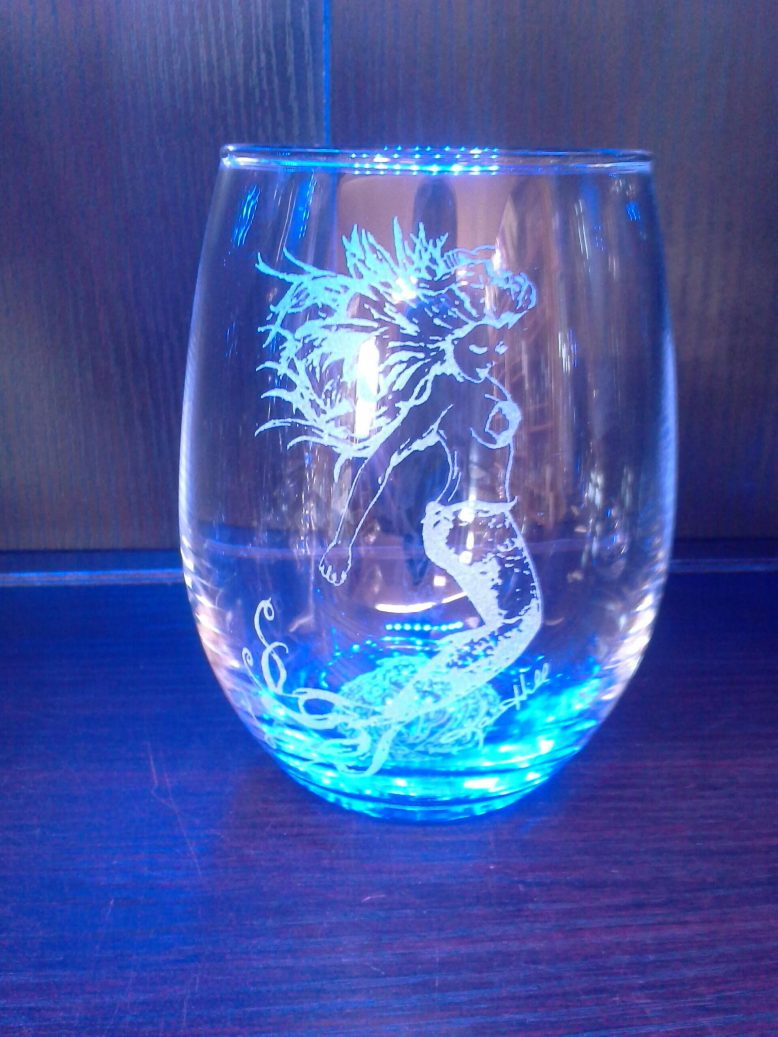 mermaid-stemless
